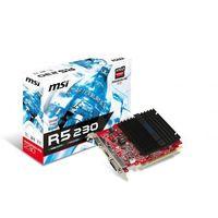 MSI Radeon R5 230 1GB DDR3 64B IT DVI/HDMI/PCI-E/D-SUB