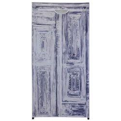 Szafa na ubrania, składana garderoba, 160x75x45cm marki Emako