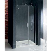 Drzwi prysznicowe z 2 ściankami 120cm lewe BN3015L