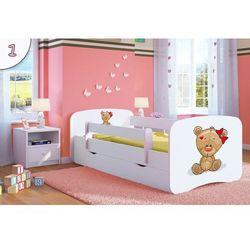 Łóżko dziecięce Kocot-Meble BABYDREAMS MIŚ z KOKARDKĄ Kolory Negocjuj Cenę, Kocot-Meble