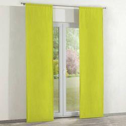 zasłony panelowe 2 szt., limonka, 60 × 260 cm, jupiter marki Dekoria