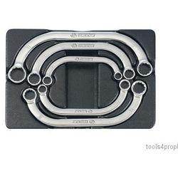 King tony Zestaw kluczy oczkowych wygiętych 5cz. 10 - 22mm, wkład do wózka 9-1905mr