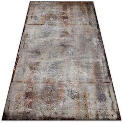 Nowoczesny dywan na balkon wzór Nowoczesny dywan na balkon wzór Rdzawa blacha