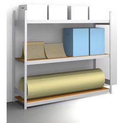 Regał wtykowy o dużej pojemności z półkami z płyty wiórowej, wys. 2000 mm, szer.