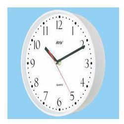Zegar plastikowy biały Super Cichy, ATE2015WSS