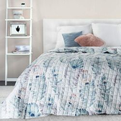 narzuta print 200x220 cm - peacock, pikowana marki My best home