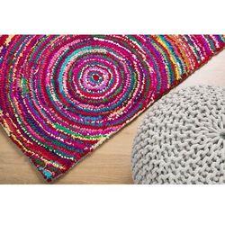 Beliani Dywan kolorowy 160x230 cm - bawełna - poliester - kozan (7081453688178)