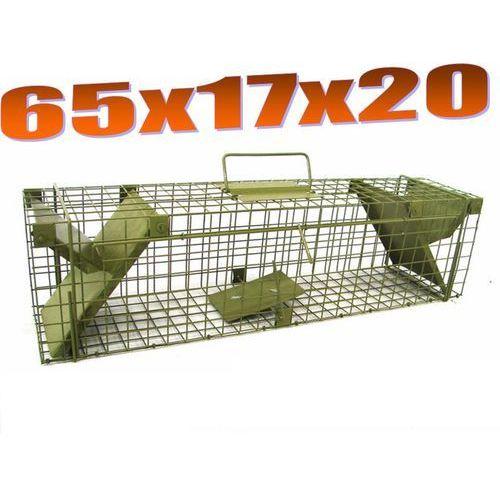 Pułapka dwuwejściowa na szczury, łasice ZL S2 - szczegóły w Mediasklep24