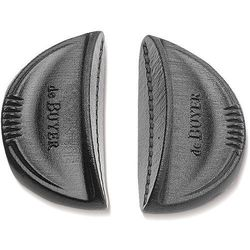 Silikonowe uchwyty do garnków twisty 2 sztuki, czarne (d-8360-00) marki De buyer