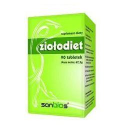 Ziołodiet (Garcinia Cambogia, Yerba Mate, Green Tea) 90 tabl. - produkt farmaceutyczny