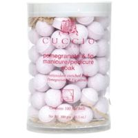 Cuccio  manicure soak with pomegranate & fig kulki sanitarne do manicure (100 szt.)