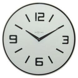 Zegar ścienny Shuwan biały, kolor biały