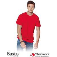 Czerwony t-shirt męski STEDMAN ST2000_SRE