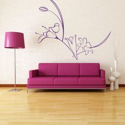 Deco-strefa – dekoracje w dobrym stylu Kwiaty 89 szablon malarski