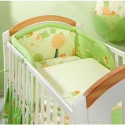 MAMO-TATO pościel 2-el Ślimaki zielone do łóżeczka 60x120cm z kategorii Komplety pościeli dla dzieci