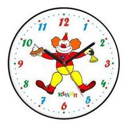 Zegar ścienny dla dzieci klaun marki Atrix