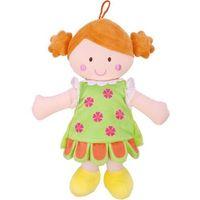 Lalka szmaciana Peppi 30 cm, zielona sukienka - Beppe (5901703111558)