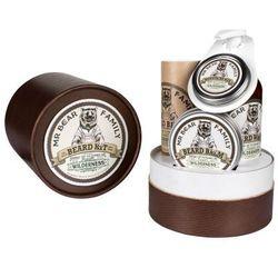 Mr Bear Family Wilderness zestaw prezentowy w tubie do brody i wąsów ()