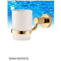 kubek na szczoteczki wiszący złoty modern mo3102 zl marki Omnires