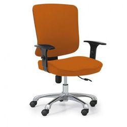 B2b partner Krzesło biurowe hilsch, pomarańczowe