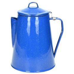Mil-Tec Zaparzacz Dzbanek do Kawy Herbaty Niebieski (4046872180040)