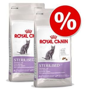 Dwupak  health - sterilised 37, 2 x 10 kg marki Royal canin