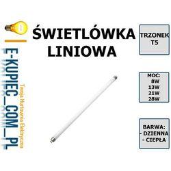 D50-T5-13-27 ŚWIETLÓWKA T5, 13W 2700K CIEPŁA - sprawdź w Sklep elektryczny www.e-kupiec.com.pl