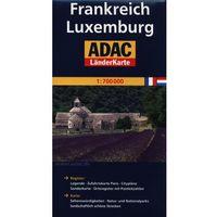 ADAC Frankreich Luxemburg mapa drogowa 1:700 000, Daunpol