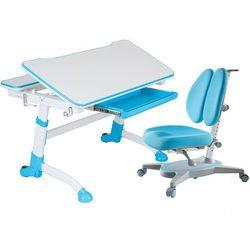 VOLARE BLUE + PRIMAVERA II BLUE - Regulowane biurko z krzesełkiem FunDesk, FunDesk