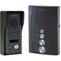 Zestaw domofonowy ORNO DOM-RE-914 Eluvio jednorodzinny Czarny + DARMOWY TRANSPORT! (5901752483903)