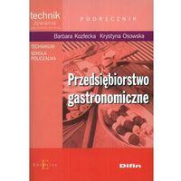 Przedsiębiorstwo gastronomiczne podręcznik, Difin