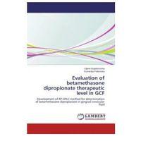 Evaluation of betamethasone dipropionate therapeutic level in GCF