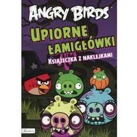 Angry Birds. Upiorne łamigłówki. Książeczka z naklejkami - Wysyłka od 3,99 - porównuj ceny z wysyłką,
