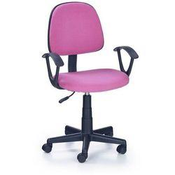 Fotel młodziezowy obrotowy darian bis różowy marki Halmar