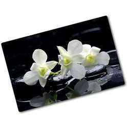Deska do krojenia szklana Orchidea