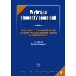 Wybrane elementy socjologii, książka w oprawie miękkej