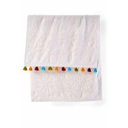 Ręczniki z kolorowymi chwostami (2 szt.) kremowy marki Bonprix