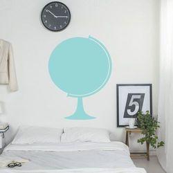 Wally - piękno dekoracji Tablica suchościeralna globus 344