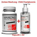 Lovely lovers Maxilong 60 kaps. + maxilong żel 150 ml zestaw powiększający penisa