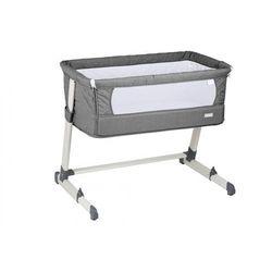 Babygo łóżeczko dostawne together grey