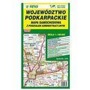 Mapa województwa podkarpackiego - administracyjno-samochodowa 1:180 000 - Wydawnictwo Kartograficzne