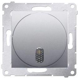 Ospel Dzwonek elektroniczny 230v~ srebrny mat - dds1.01/43 simon 54 premium