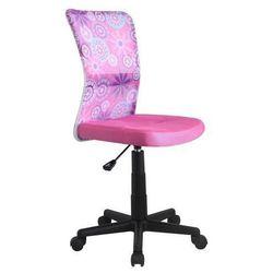 Krzesło dziecięce dingo różowy marki Halmar
