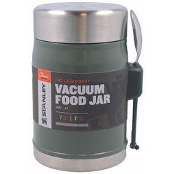 Termos na posiłek STANLEY Classic 400 ml ze sztućcem (zielony) (6939236373203)