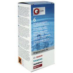 Tabletki odkamieniające Bosch/Siemens 310967 - 6 sztuk z kategorii Akcesoria do ekspresów do kawy