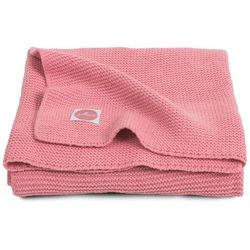 Koc basic knit - coral 100x150cm 516-522-65106 marki Jollein