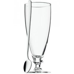 - clever&more szklanka do mrożonej kawy z łyżeczką pojemność: 0,45 l marki Wmf