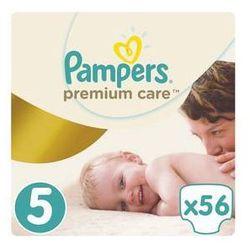 Pieluszki Pampers Premium Care 5 JUNIOR 56 szt. - produkt z kategorii- Pieluchy jednorazowe