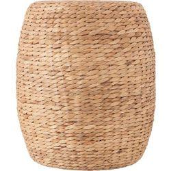Pleciony stolik kawowy z trawy morskiej - Ø 35 cm, wys. 40 cm