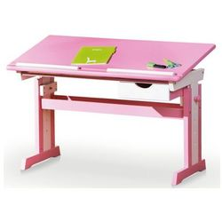 Biurko regulowane exton - różowe marki Profeos.eu